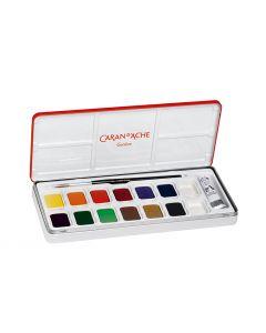 Caran d'Ache gouache fargesett 13 farger