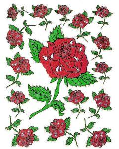 Klistremerker Roser