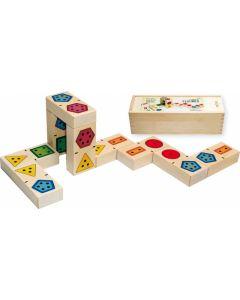 Bajo 3D Domino Nummer