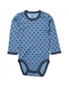 Body baby Hummel barn blå