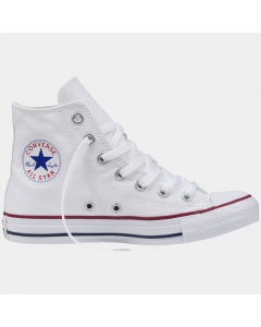Converse All Star High - fritidssko med overdel i behagelig kanvas. Yttersåle i gummi, som ikke setter merker på underlaget. Skoen har høyt skaft.  Spesifikasjoner:  - Overdel: Kanvas - Yttersåle: Gummi, non-marking