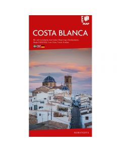 Landskart og bilkart Costa Blanca EasyMap