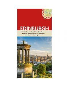 Bykart Edinburgh EasyMap stadskarta