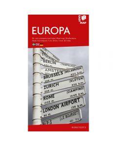 Landskart og bilkart Europa EasyMap