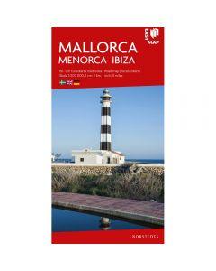 Landskart og bilkart Mallorca Menorca og Ibiza EasyMap