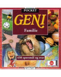 Familiespill Geni spørrespill pocket utgave 450 spørsmål