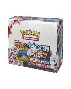 Pokémon TCG Crimson Invasion Booster Display