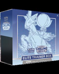 Pokémon TCG Chilling Reign - Elite Trainer Box Ice Rider Calyrex
