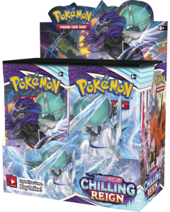 Pokémon TCG Chilling Reign Booster Display