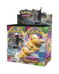 Pokémon TCG Vivid Voltage Booster Display
