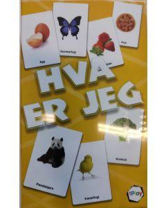 Hva er jeg gjette- og mimespill for barn