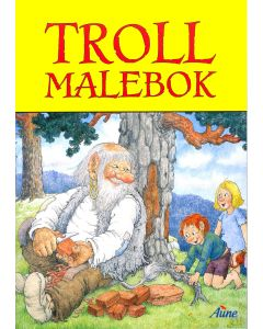 Troll malebok
