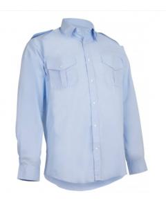 Uniformsskjorte, arbeidstøy. Wenaas skjorte lange armer. 0-99100-125-44