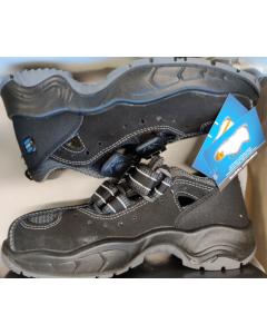 Vernesko Verner S1+P sko sandal sort sikkerhetssko